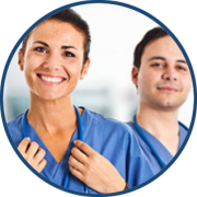Smiling nurses